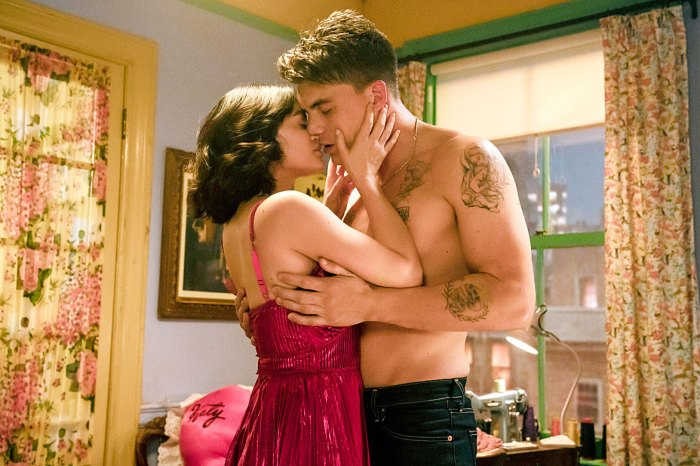 Lucy Hale as Katy Keene and Zane Holtz as K.O. Kelly Kissing Lucy Hale Will Sing in Katy Keene