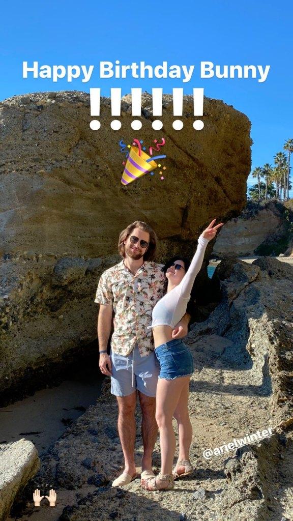 Luke Benward Showers Girlfriend Ariel Winter With Love on Her 22nd Birthday