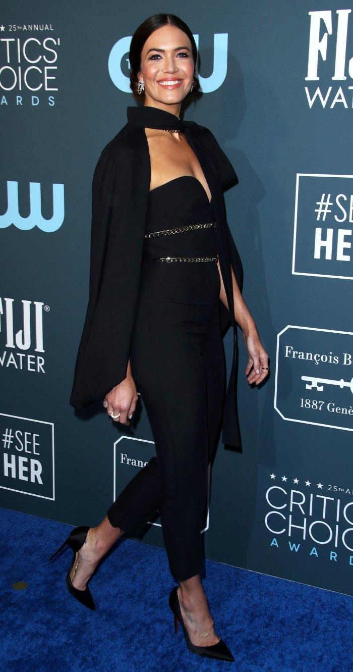 Mandy Moore Ate Costar Dinner Critics Choice Awards