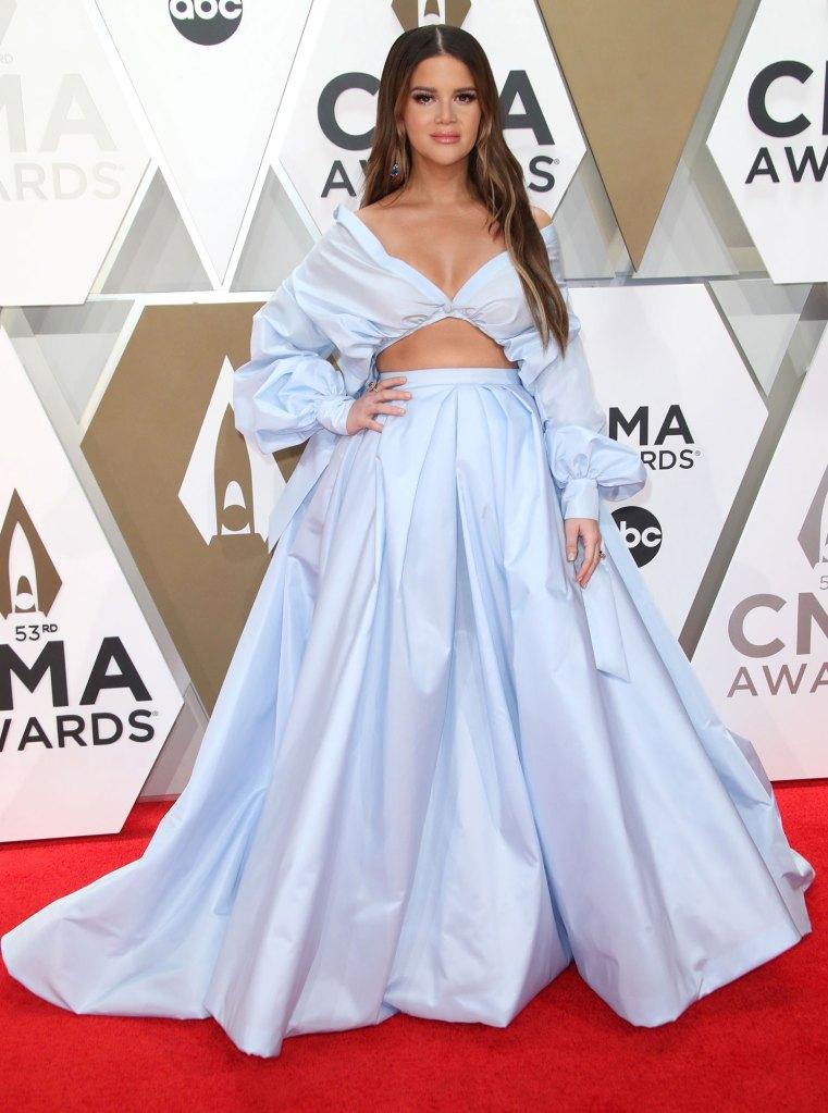 Maren Morris Wearing Honayda 53rd Annual CMA Awards