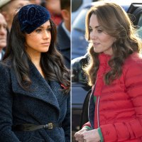 Meghan Markle, Kate Middleton Barely Speak