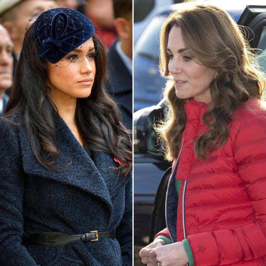 Meghan Markle, Kate Middleton Barely Speak