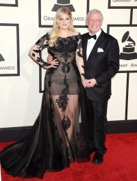 Meghan Trainor and Father Gary Trainor Stars Who Brought Family Members to the Grammy Awards