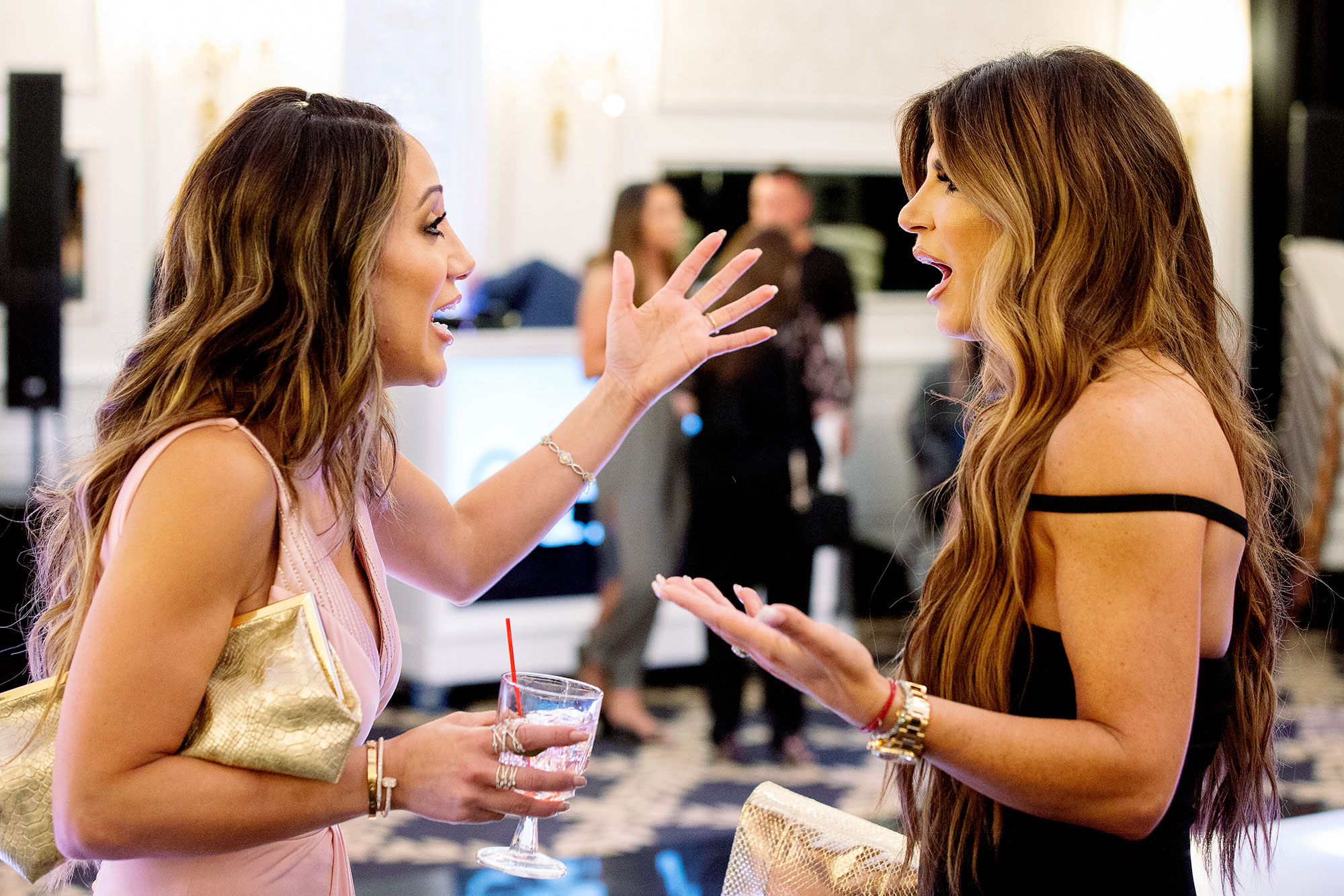 Melissa Gorga and Teresa Giudice on The Real Housewives of New Jersey Andy Cohen Reveals the Real Housewives of New Jersey Season 10 Delivered'
