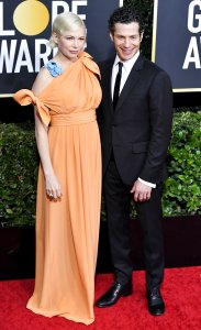 Michelle Williams Shouts Out Daughter New Fiance Golden Globes 2020 After Powerful Speech
