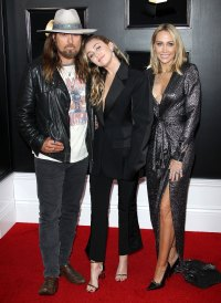Miley Cyrus, Letitia Cyrus, Billy Ray Cyrus Stars Who Brought Family Members to the Grammy Awards