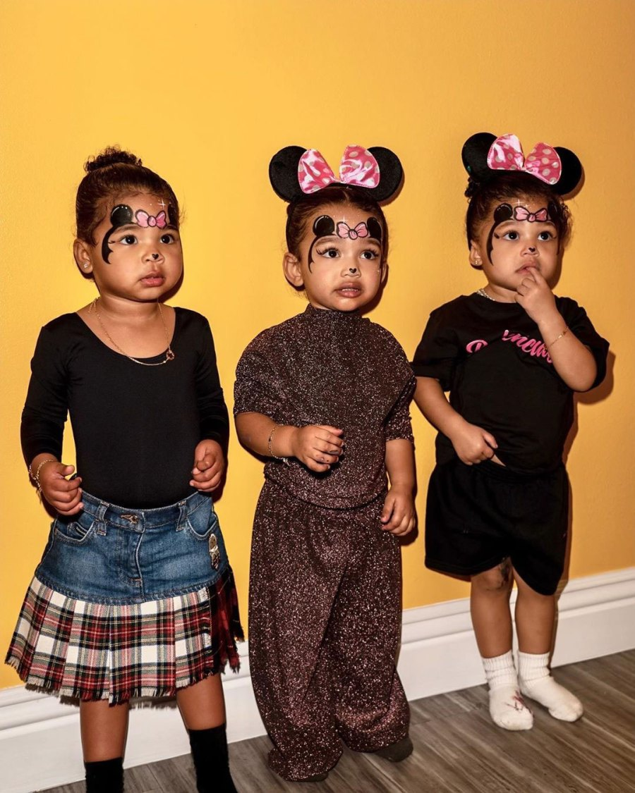 Minnie Mouses Chicago West Birthday Gallery With True and Stormi
