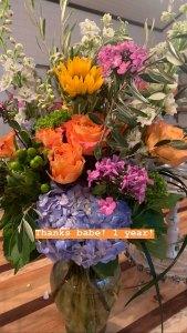 Miranda Lambert and Brendan Mcloughlin 1st Anniversary