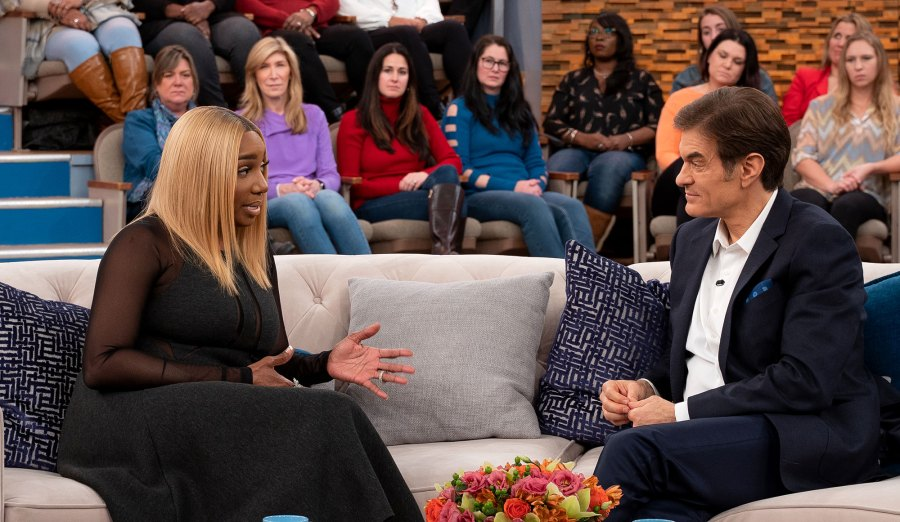 NeNe Leakes and Dr. Oz Discuss the 'RHOA' Star's Health Scare: It's Caused by 'Stress'