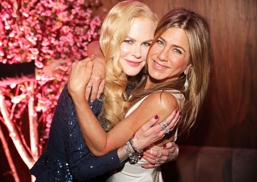 Nicole Kidman and Jennifer Aniston SAG Awards 2020 Afterparty