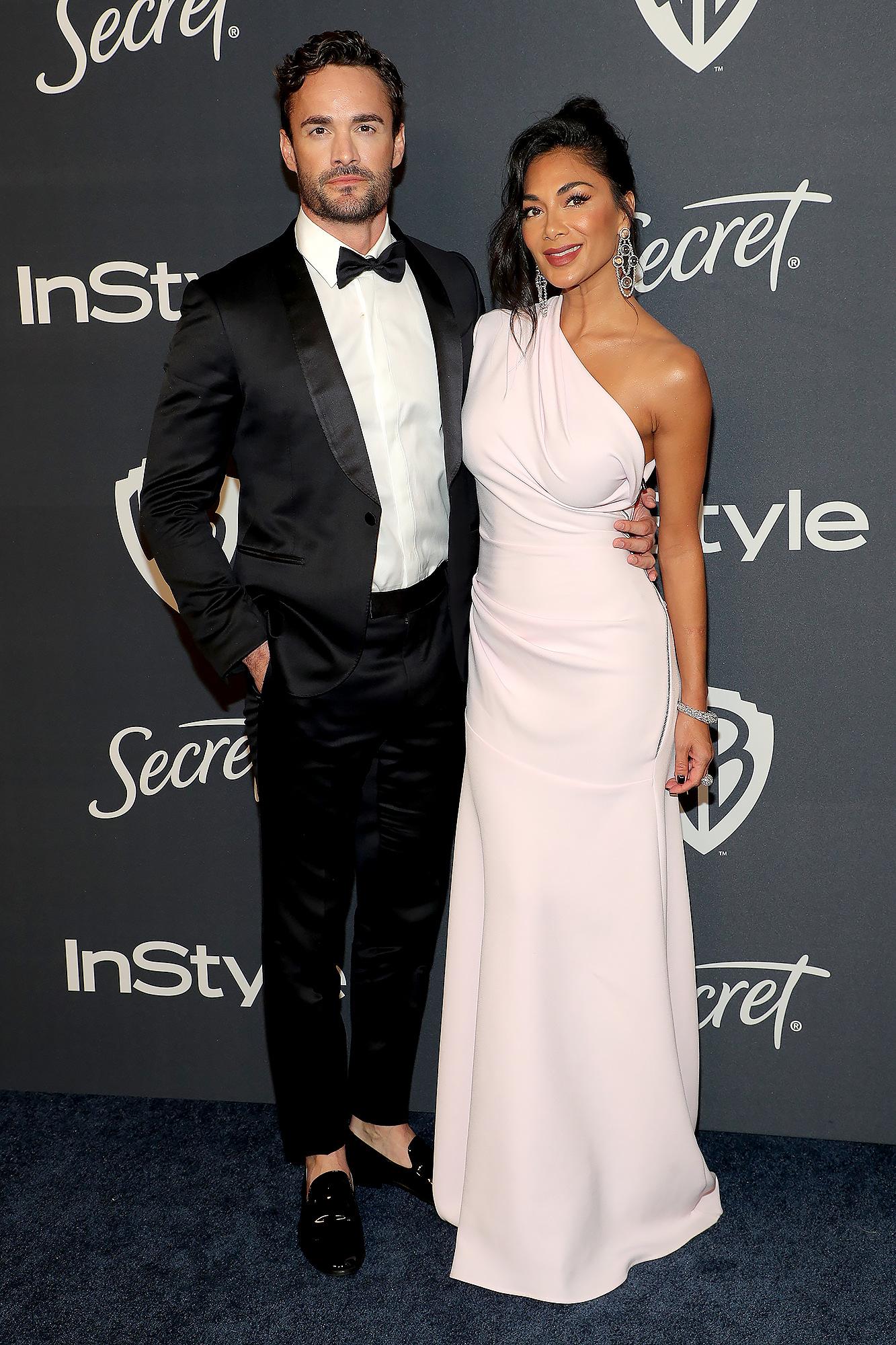 Nicole Scherzinger Makes Red Carpet Debut With 'X Factor UK' Contestant Thom Evans