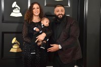 Nicole Tuck, Asahd Tuck Khaled, and DJ Khaled Stars Who Brought Family Members to the Grammy Awards