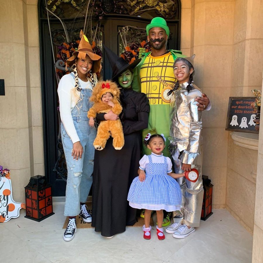 Off to See the Wizard Halloween Kobe Bryant Sweetest Moments With His Kids