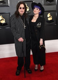 Ozzy Osbourne and Kelly Osbourne Family Grammys 2020