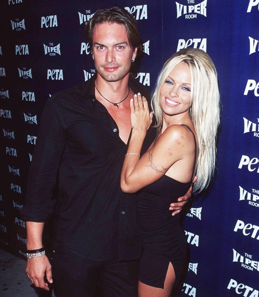 Pamela Anderson's Dating History MARCUS SCHENKENBERG