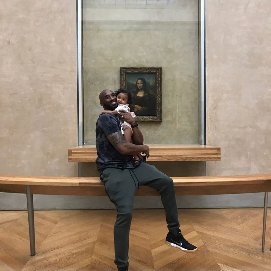 Paris Kobe Bryant Sweetest Moments With His Kids