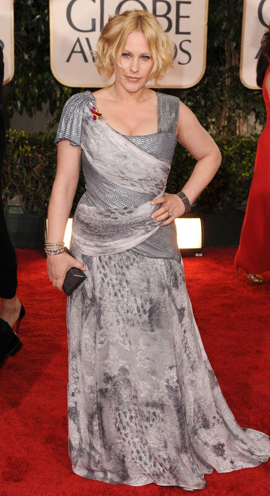 Patricia Arquette's Golden Globe Awards Looks - 2010