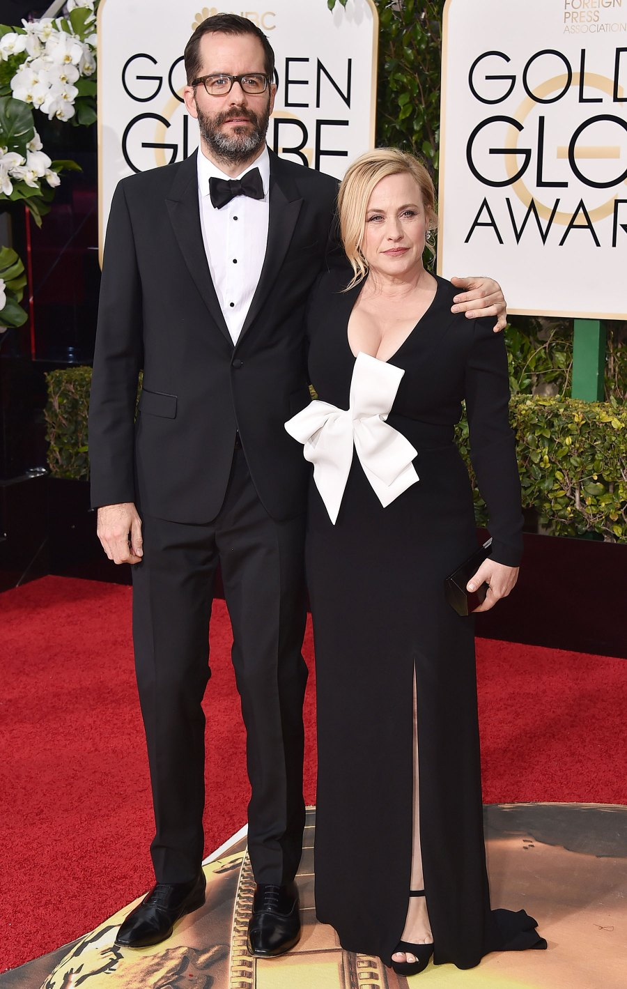 Patricia Arquette's Golden Globe Awards Looks - 2016