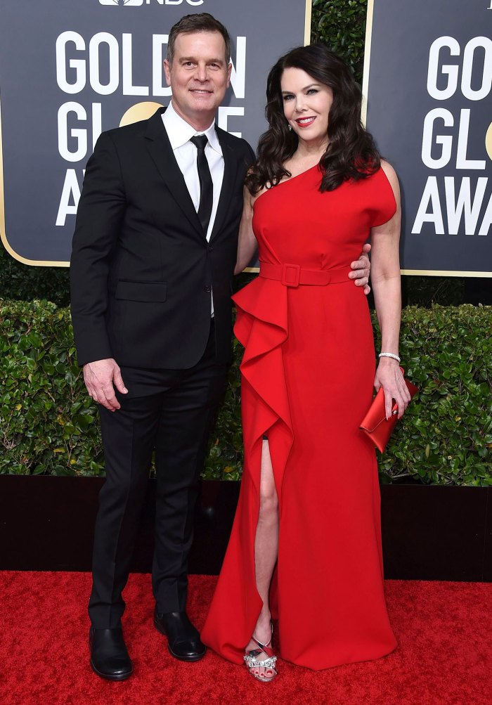 Peter Krause and Lauren Graham Date Night At Golden Globes 2020