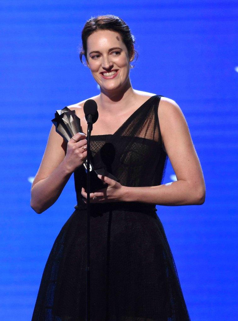 Phoebe Waller-Bridge Critic's Choice Awards 2020