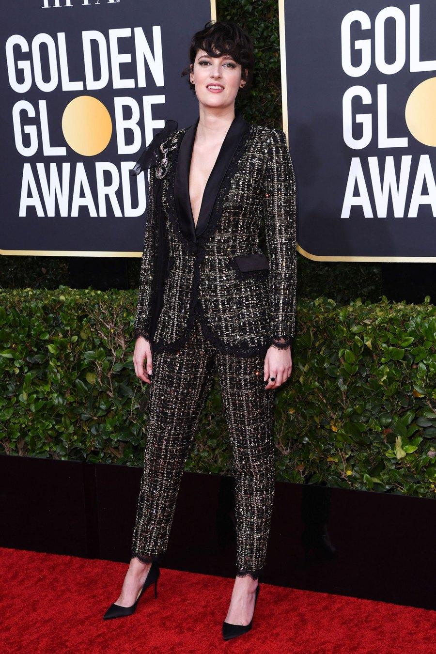 Phoebe Waller-Bridge Wearing Ralph & Russo Golden Globes 2020 Celebrity Charity