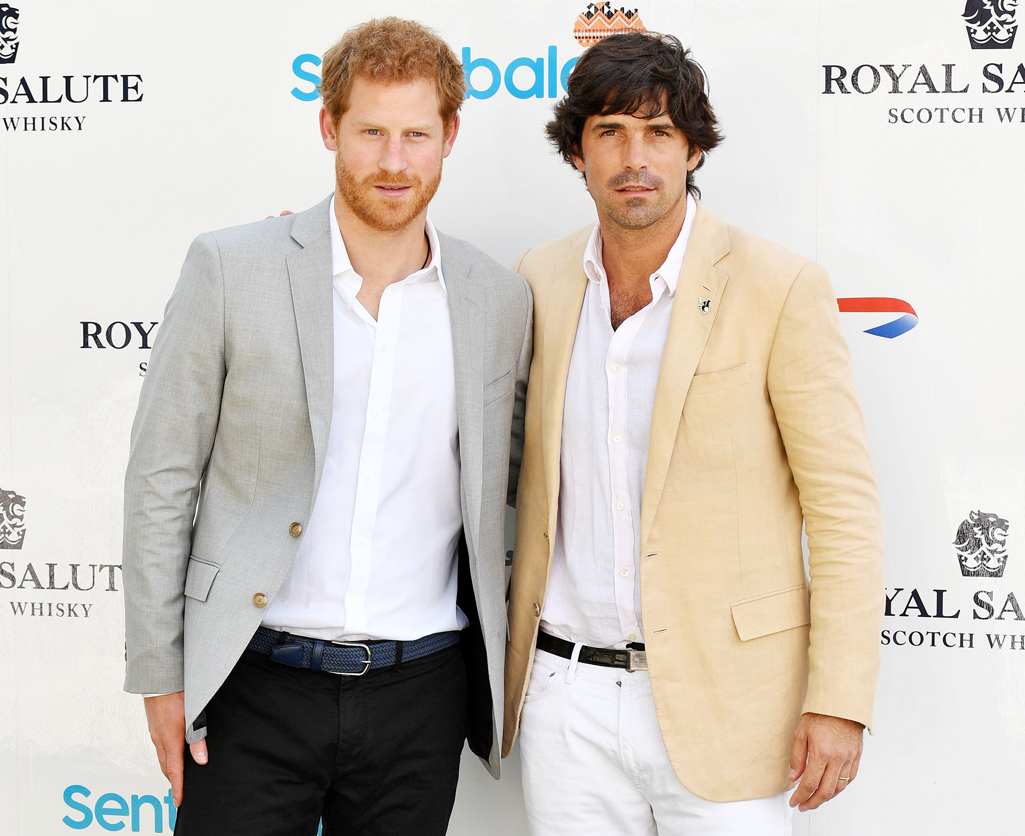 Prince Harry and Nacho Figueras at the Sentebale Royal Salute Polo Cup Prince Harry Has Suffered A Lot Longtime Friend Nacho Figueras Says