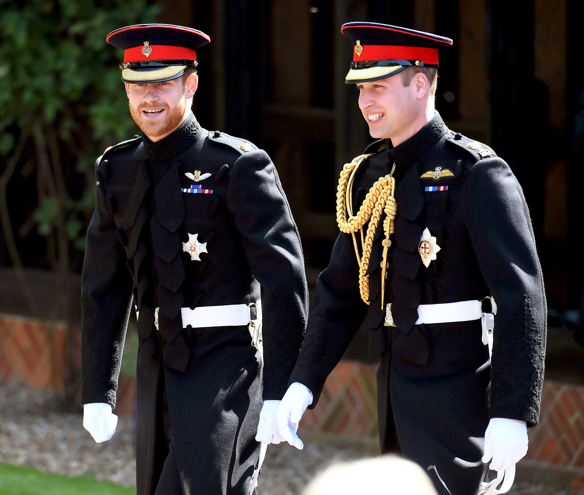 Prince Harry, Prince William Spotted After 'Constructive' Royal Family Meeting