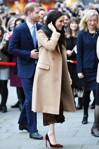 Prince Harry and Duchess Meghan Visit Canada House in London for Their First Public Engagement of the New Year
