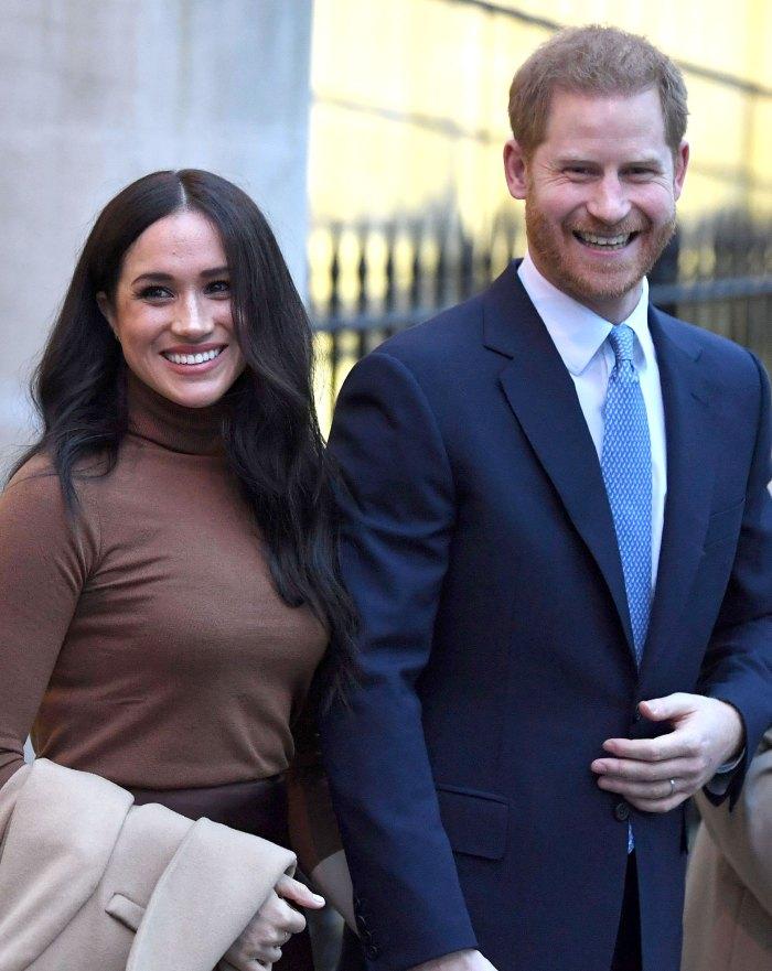 Prince Harry and Meghan Markle Canada House