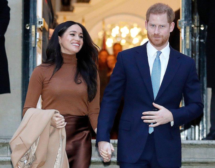 Prince Harry and Meghan Markle Canda House