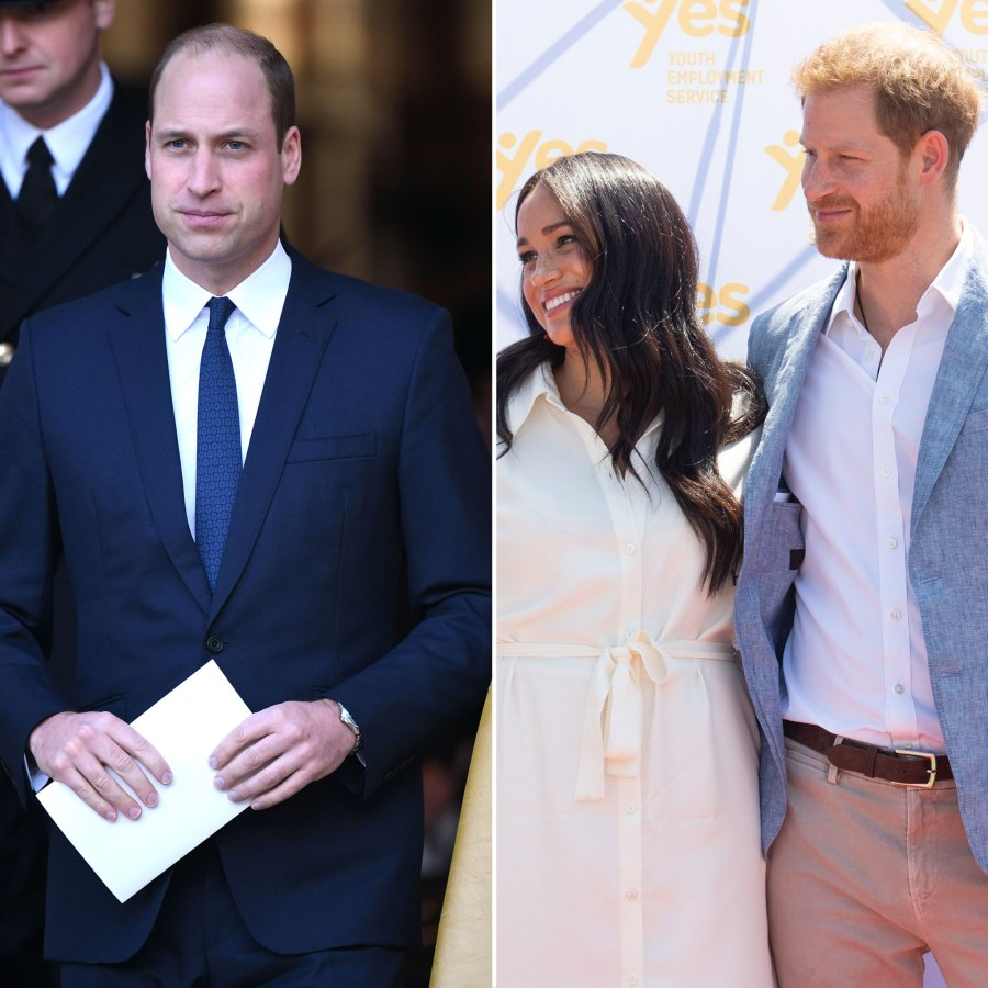 Prince William Not Happy With When Harry, Meghan News Broke