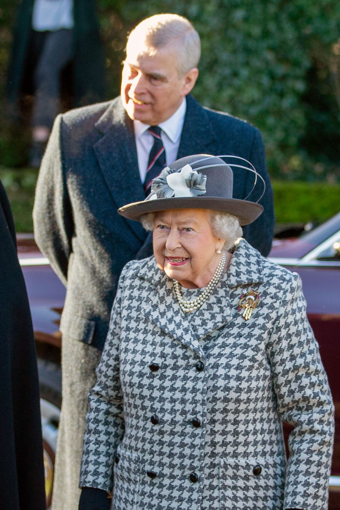 Queen Attends 1st Sunday Service Since Harry, Meghan's Royal Exit