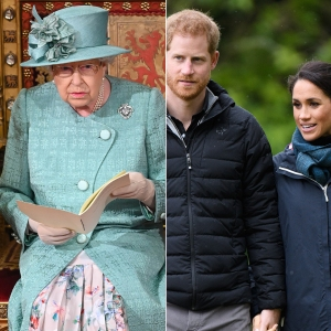 Queen Elizabeth Calls Emergency Meeting With Royal Family After Prince Harry, Duchess Meghan's Announcement