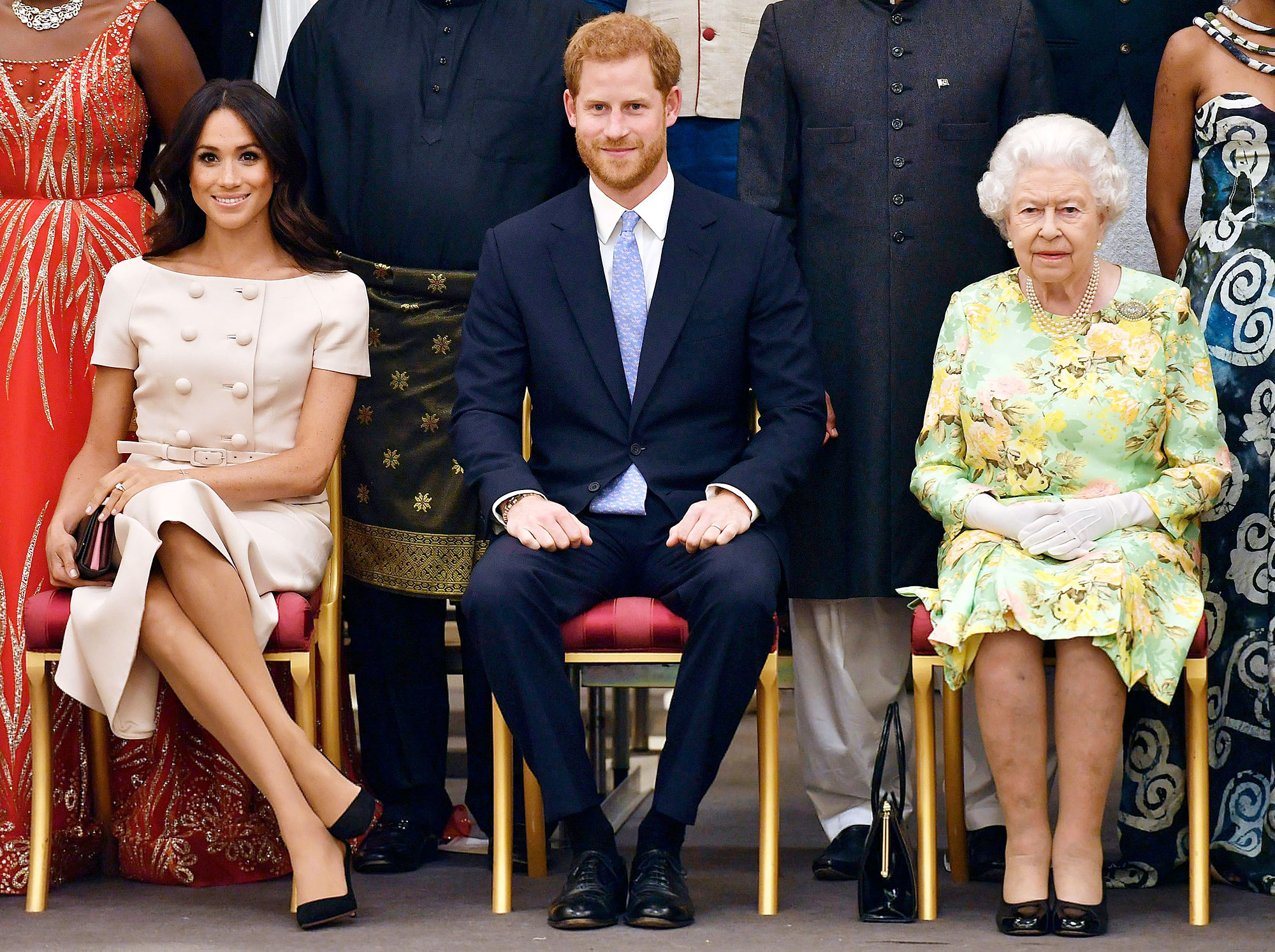 Queen Elizabeth Discusses Complex Matters Regarding Prince Harry and Duchess Meghans New Lives