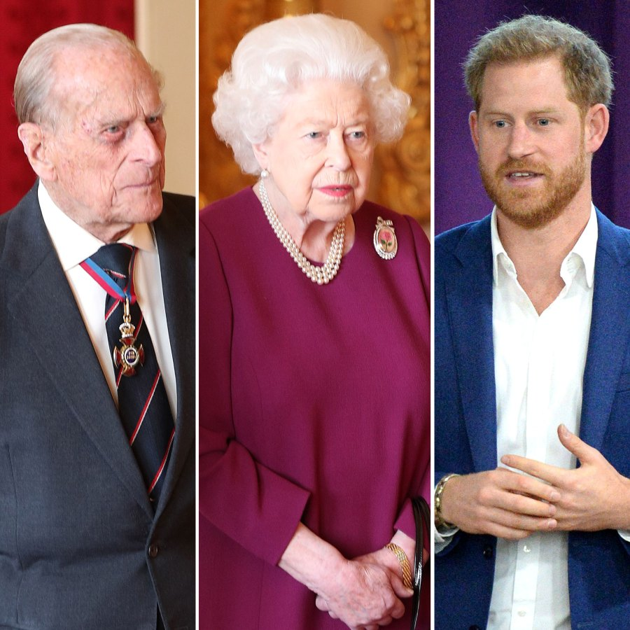 Queen Elizabeth II with Prince Philip To Meet With Prince Harry