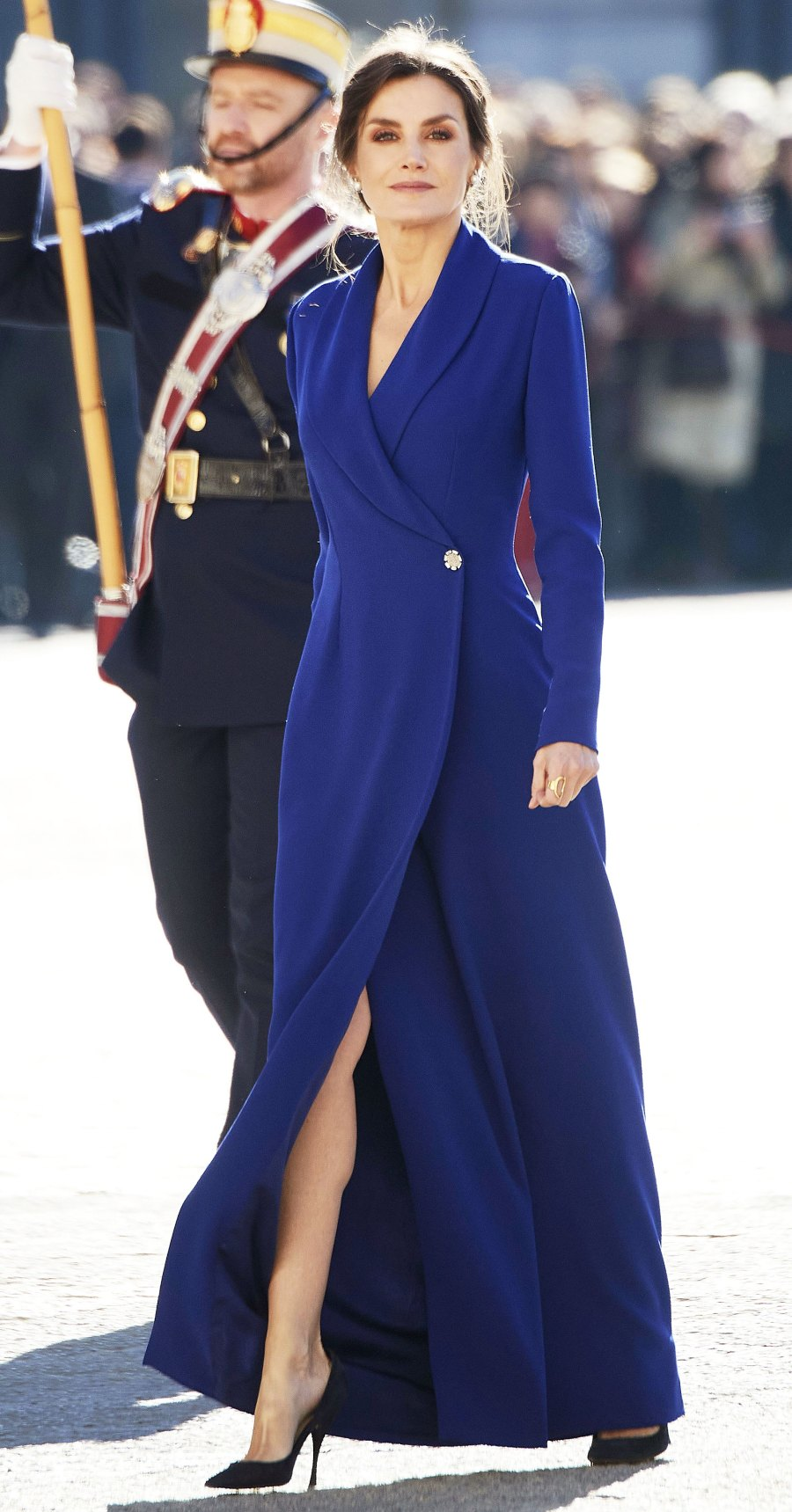Queen Letizia Coat Dress January 6, 2020