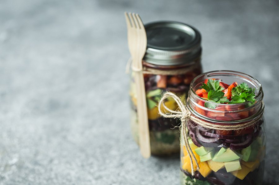 Quick and Easy Mason Jar Recipe Ideas for Lunch