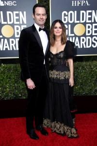 Rachel Bilson and Bill Hader Make Couple Debut at the 2020 Golden Globes