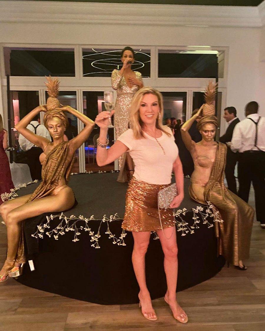 Ramona Singer How the Stars Celebrated New Years Eve 2020