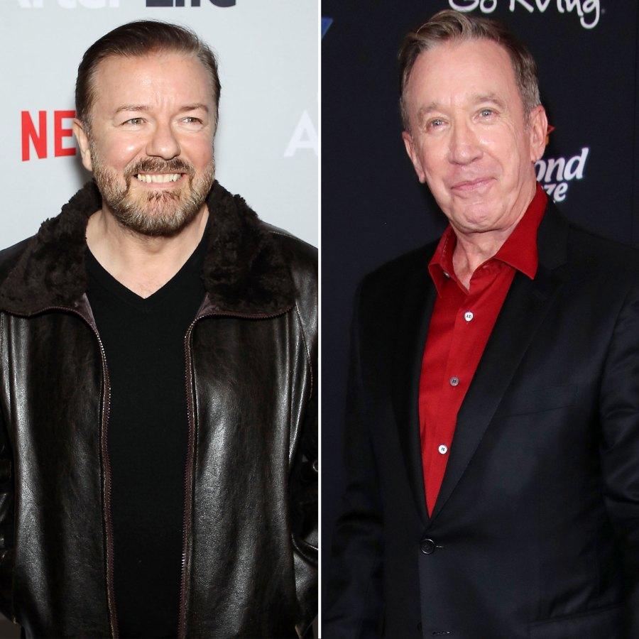 Ricky Gervais Regrets 2011 Golden Globes Joke About Tim Allen