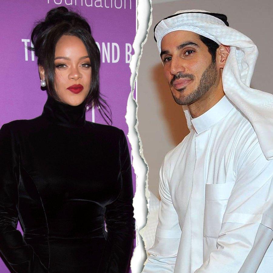 Celeb Splits 2020 Rihanna Hassan Jameel