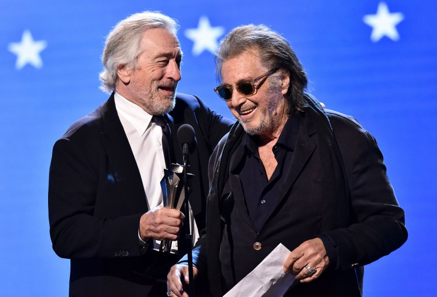 Robert De Niro and Al Pacino - Best Ensemble - The Irishman Critic's Choice Awards 2020
