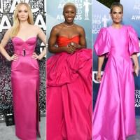 SAG Awards 2020 Trends - Hot Pink