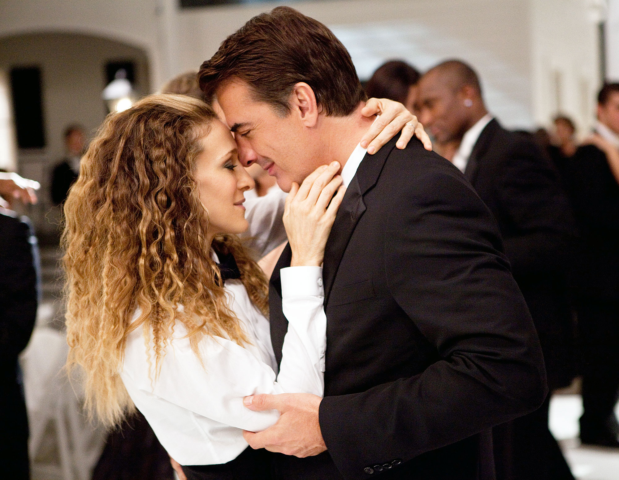Sarah Jessica Parker and Chris Noth in Sex and The City 2 Sarah Jessica Parker Reveals If She's Personally Team Big or Team Aidan