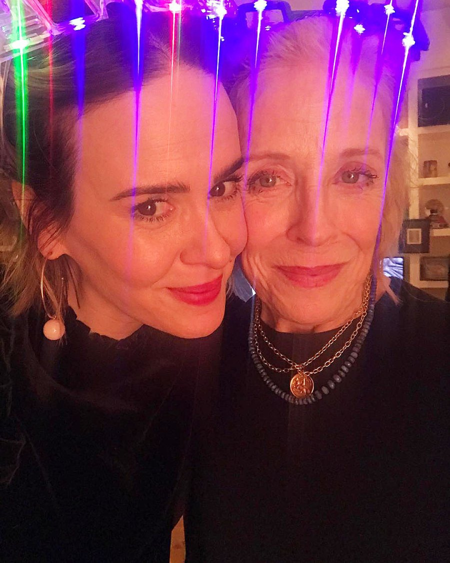 Sarah Paulson and Holland Taylor How the Stars Celebrated New Years Eve 2020
