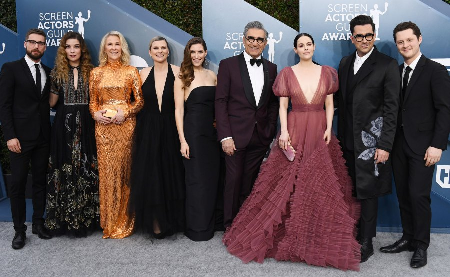 See the Schitts Creek Cast Red Carpet Reunion SAGs 2020