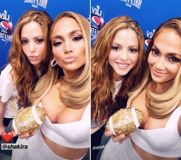 Shakira-Jennifer-Lopez-glitter-football
