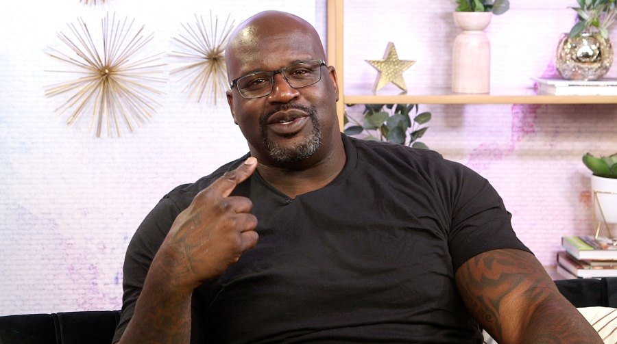 Shaquille O'Neal Reveals His Celeb Crush on Candlelight Confessions