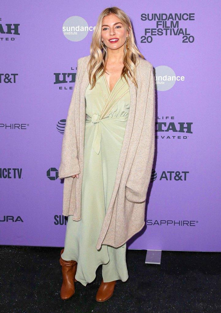 Sienna Miller Wearing Etro Wander Darkly Daughter Jealous