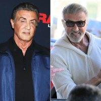 Sylvester Stallone Grey Hair Change